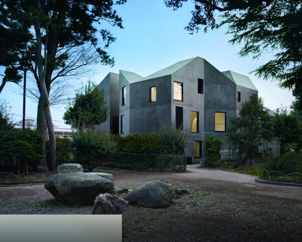 """Wohnhaus-Entwurf """"The Alp"""" von Akihisa Hirata"""