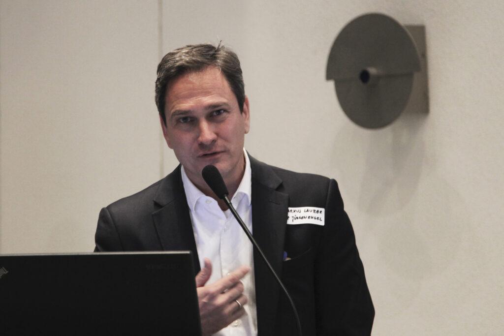 Markus Lauber vom NAX-Paten Büro KSP Jürgen Engel Architekten