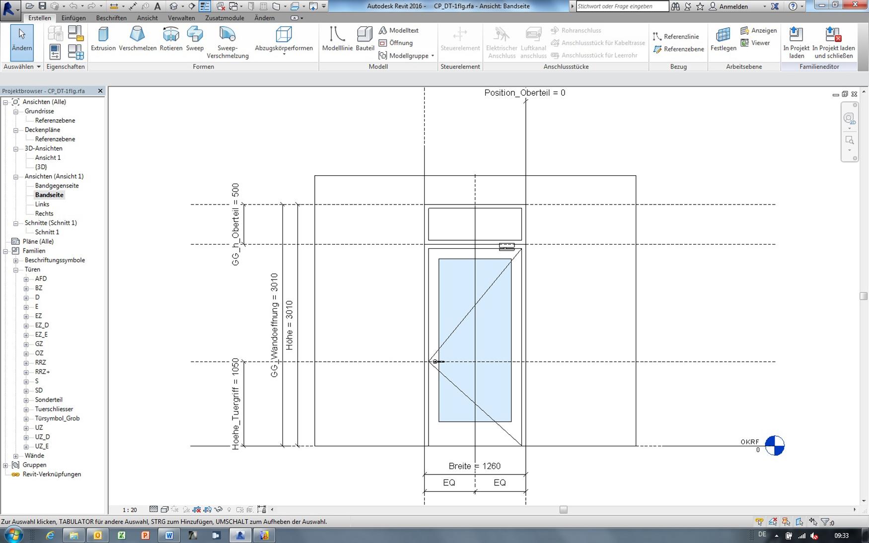 Building Information Modelling (BIM) – complete door planning is now even easier