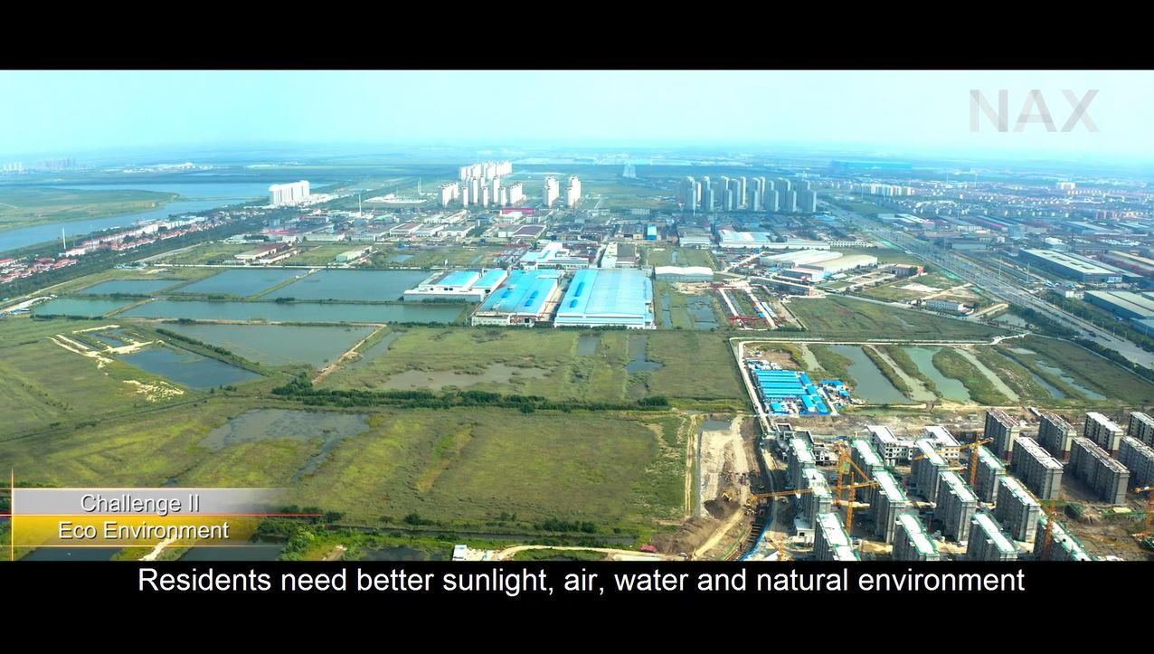 "Documentary ""Sino-German Tianjin Daqiuzhuang Eco-City, On the Way to Decarbonisation through Urban Renewal"""